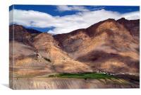 Ki Monastery in Spiti Valley, Canvas Print