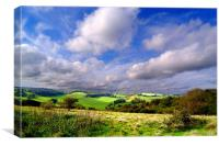 Kent Countryside, Canvas Print