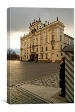 Guarding Prague Castle, Canvas Print