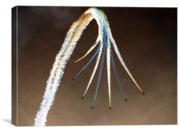 Red Arrows Dive, Canvas Print