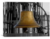 Bell on SS Discovery, Canvas Print