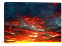 Sunset, Canvas Print