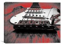my guitar, Canvas Print