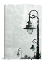 Street Lights, Canvas Print