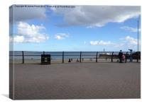 Looe sea Front, Canvas Print