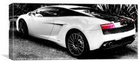 Lamborghini Gallardo Bicolore, Canvas Print