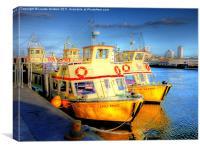 Fun Time Ferries, Canvas Print