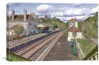 Corfe Castle Station, Canvas Print