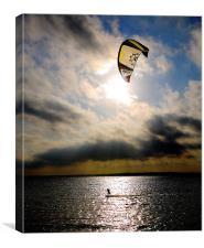 Perfect Kitesurfer, Canvas Print