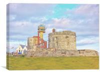 Calshot Castle, Canvas Print