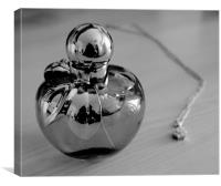 Black and White Perfume, Canvas Print