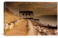 The Watch House, Canvas Print
