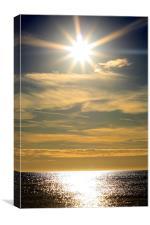 The Perfect Sun, Canvas Print