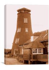 Ye Ole Windmill, Canvas Print