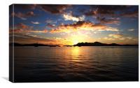 Glorious Sunrise, Canvas Print