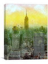New York New York, Canvas Print