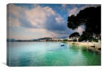 Puerto Pollensa Mallorca, Canvas Print