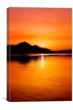 Mallorcan Sun, Canvas Print