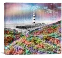 The Lighthouse, Canvas Print