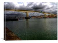 Itchen Bridge Southampton, Canvas Print