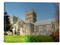 Wimborne Minster Church, Canvas Print