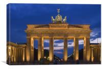 Brandenburger Tor, Canvas Print