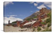 Kennicott Mine, Canvas Print