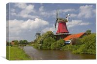Windmill, Canvas Print