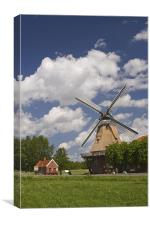 Bagband Windmill, Canvas Print
