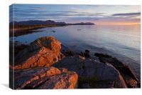 Sunset on Lofoten Islands, Canvas Print