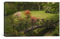 Armadale gardens, Canvas Print