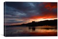 Eilean Donan Sunset , Canvas Print