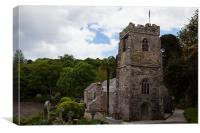 St.Just in Roseland, Canvas Print