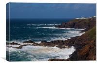 Lighthouse Pendeen Head, Canvas Print