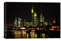 Mainhattan lights, Canvas Print