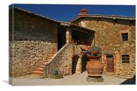 Toscana Winery, Canvas Print
