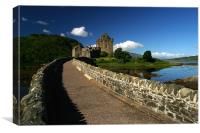 Bridge to Eilean Donan, Canvas Print