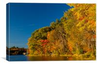 Silver Lake Campground, Canvas Print