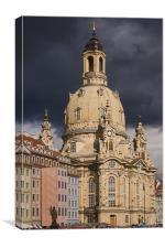 Frauenkirche Dresden, Canvas Print