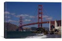 Golden gate Bridge , Canvas Print