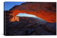Mesa Arch IV, Canvas Print