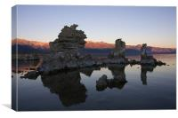 Mono Lake Sunrise , Canvas Print