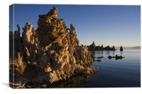 Mono Lake Sunrise II , Canvas Print