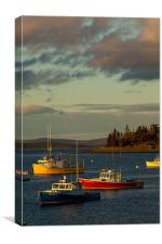 Sunset in Bar Harbor, Canvas Print