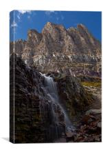 Logan  Pass, Canvas Print
