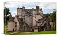 Castle Fraser, Canvas Print
