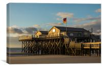 Sunset in Ording, Canvas Print