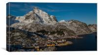 Nusfjord, Canvas Print