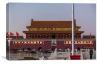 Tiananmen, Canvas Print