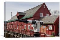 Polarmuseum Tromsö, Canvas Print